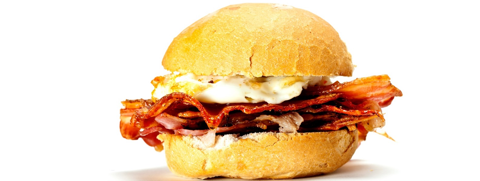 Wollombi Market at the Dos Juans Fine Food Farm, Burger, bacon and eggs rools